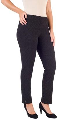 Chesca Jacquard Slim Stretch Trousers