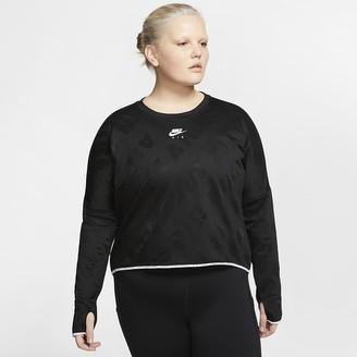 Nike Women's Long-Sleeve Running Top (Plus Size