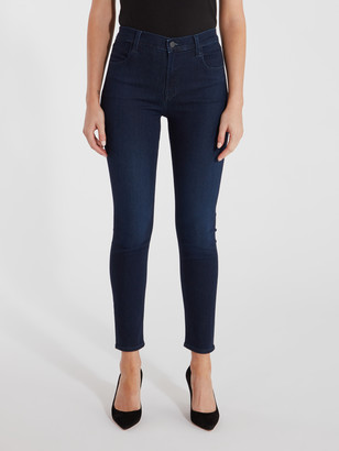 J Brand Alana High Rise Cropped Super Skinny Jeans