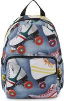 Molo Roller skating print backpack