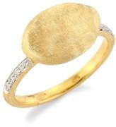 Marco Bicego Siviglia 18K Yellow Gold & Diamond Pave Ring