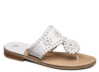 Jack Rogers Toddler's & Kid's Miss Palm Beach II Leather Sandals
