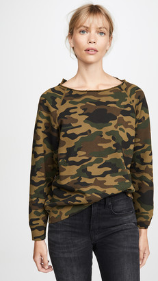 Nili Lotan Luka Scoop Neck Sweatshirt