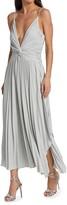 Thumbnail for your product : Halston Jody Pleated Midi-Dress