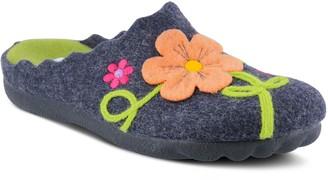 Spring Step Flexus Indoor-Outdoor Wool Slippers - Posie