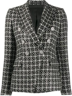 Tagliatore Fitted Tweed Blazer