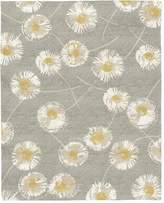 west elm Dandelion Wool Rug - Colored Background