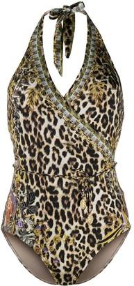 Camilla Leopard Print One-Piece Swimsuit