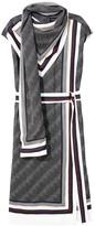 Proenza Schouler Sleeveless Printed Scarf Dress