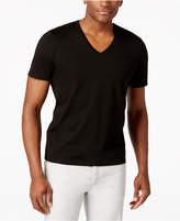 INC International Concepts Men's V-Neck Polished T-Shirt, Created for Macy's