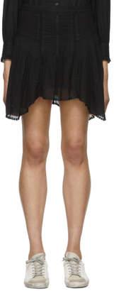 Etoile Isabel Marant Black Akala Miniskirt