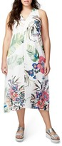Rachel Roy Plus Size Women's Print Maxi Dress