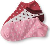 3-Pack Heart Ankle Socks