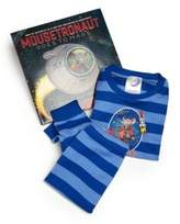 """Toddler's & Little Boy's """"Mousetranaut Goes To Mars"""" Striped Pajamas & Book Set"""