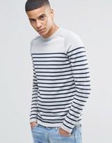 Selected Breton Stripe Sweatshirt