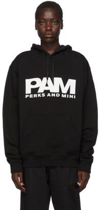 Perks And Mini Black Logo Unisex Hoodie