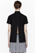 Opening Ceremony Black split Colt Boxy Blouse