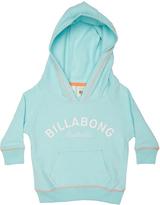 Billabong Tots Girls Scrabble Hooded Fleece Blue