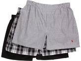 Polo Ralph Lauren 3-Pack Woven Boxer Men's Underwear
