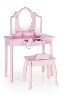 Guidecraft Classic Vanity and Stool - Pink