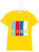 MSGM logo T-shirt - kids - Cotton - 10 yrs
