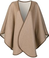 Sofia Cashmere cape coat