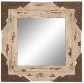"UMA 24"" Square Wood Mirror"