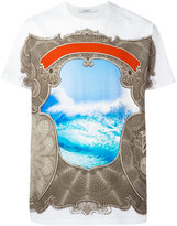 Givenchy Columbian-fit baroque print T-shirt - men - Cotton - XXS