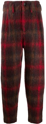 Nicholas Daley Checked Trousers