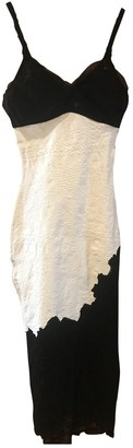 Christian Lacroix White Cotton - elasthane Dress for Women Vintage