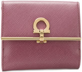 Salvatore Ferragamo Gancio wallet - women - Calf Leather - One Size
