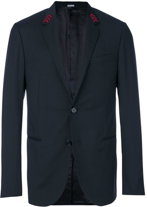 Lanvin Embroidered Arrow Collar Blazer
