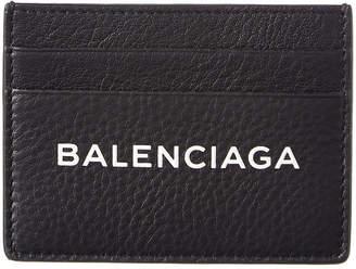 Balenciaga Everyday Leather Card Holder
