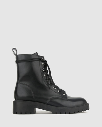 betts Razor Chunky Ankle Boots