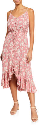 Rails Frida Floral-Print Sleeveless Flounce Dress