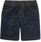 Okie Dokie Pull-On Denim Shorts - Toddler Boys 2t-5t