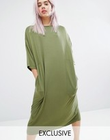 Monki Oversized Midi T-shirt Dress