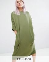 Monki Oversized Midi T-Shirt Dress