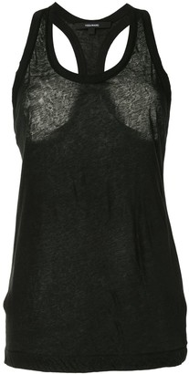 Vera Wang Racerback Sleeveless Tank Top