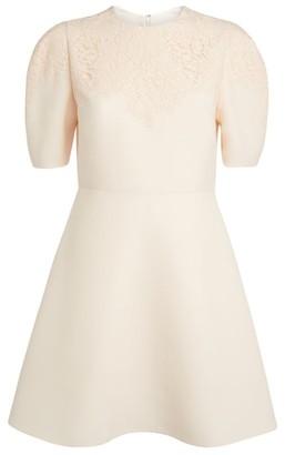 Valentino Heavy Lace Mini Dress