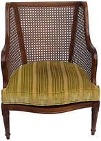 One Kings Lane Vintage Midcentury Caned Club Chair