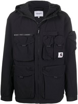 Carhartt Wip cargo-pocket hooded jacket