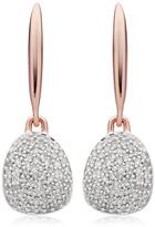 Monica Vinader Nura Small Pebble Drop Earrings