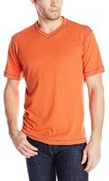 Robert Graham Men's Battleship-Short Sleeve Knit T-Shirt