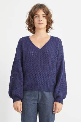 M.PATMOS Ossining Lace Pullover