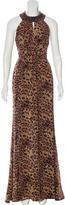Rachel Zoe Embellished Silk Dress