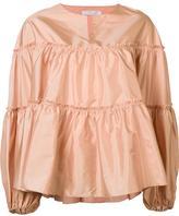 Chloé tiered blouse - women - Silk - 36