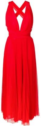 Maria Lucia Hohan midi tulle dress