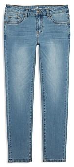 7 For All Mankind Boys' Paxtyn Straight Leg Stretch Denim Jeans - Big Kid