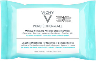 Vichy Online Only Purete Thermale Makeup Remover, Micellar Water Cleansing Wipes